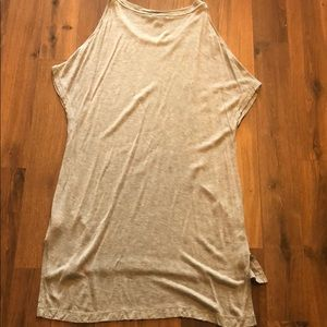 DKNY Cold shoulder Long Tee Tunic